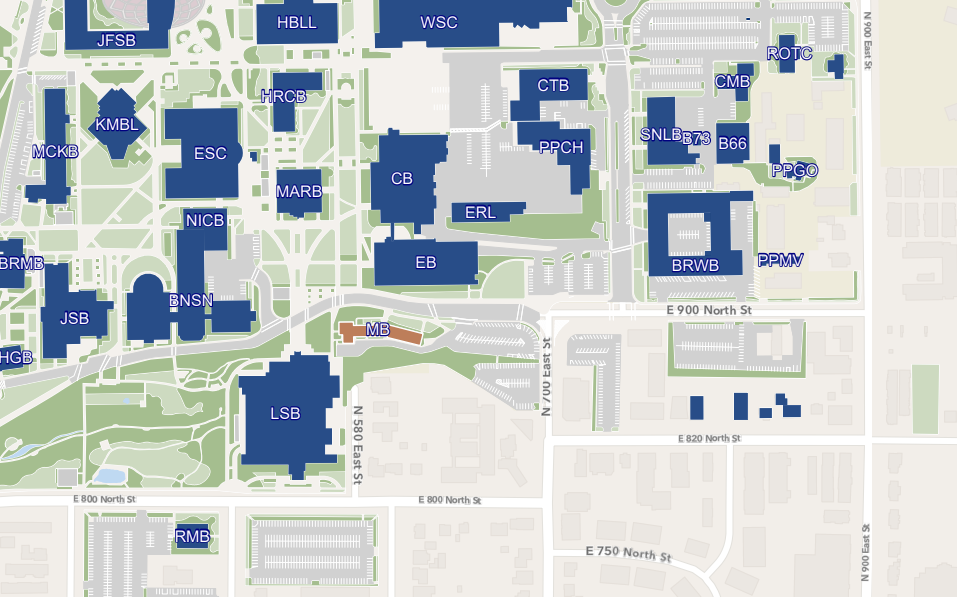 Map Of McDonald Building